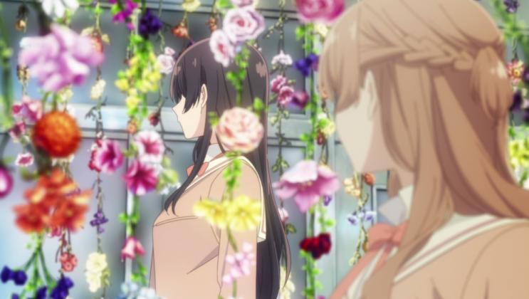 Bloom into You Sayaka 3